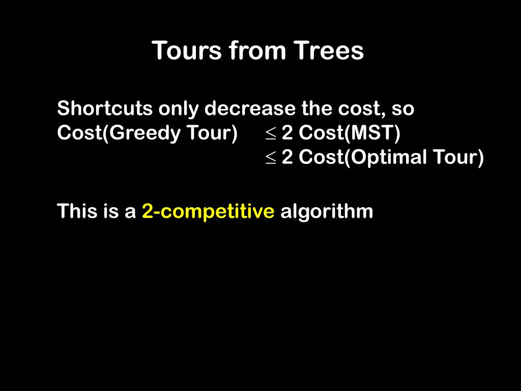 Tours from Trees