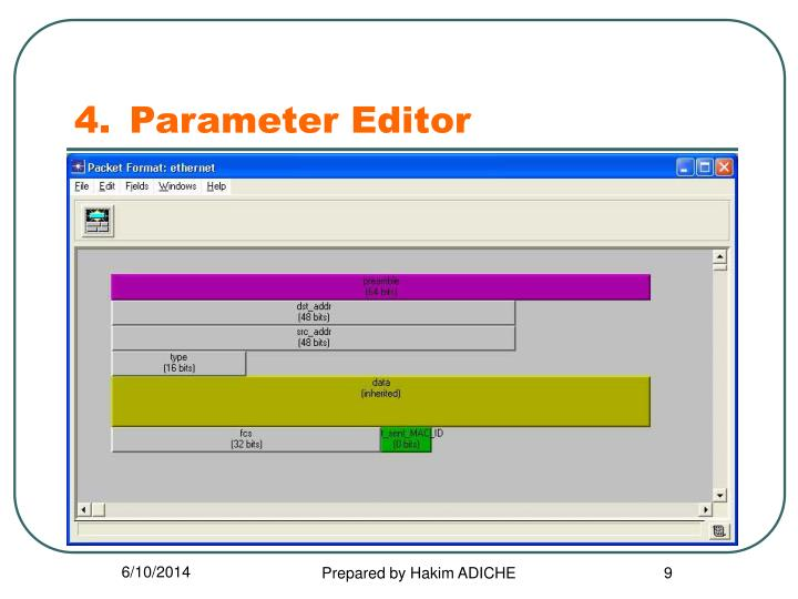 Parameter Editor