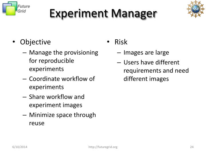 Experiment Manager