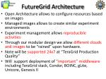 futuregrid architecture1