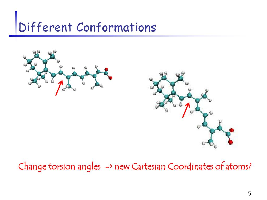 Different Conformations