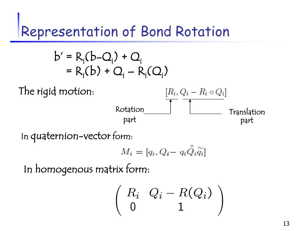 The rigid motion