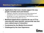 mobilized applications