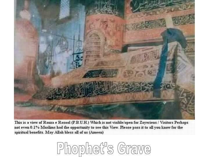 Phophet's Grave