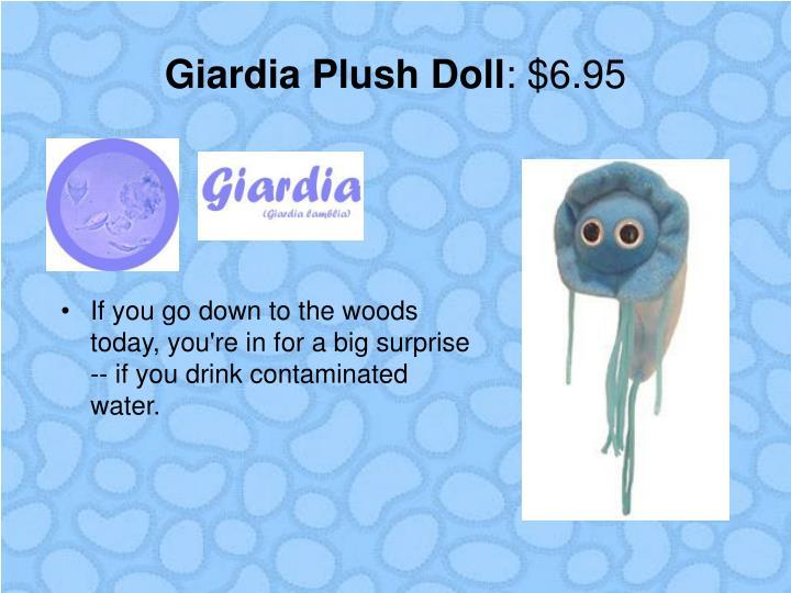 Giardia Plush Doll