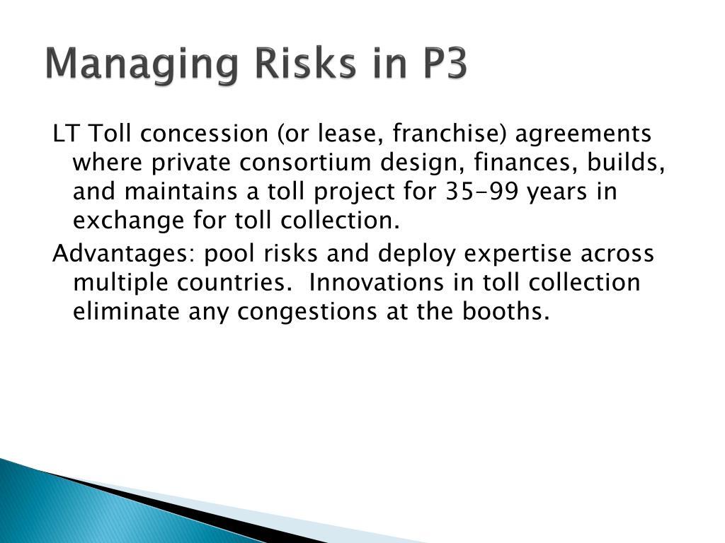 Managing Risks in P3
