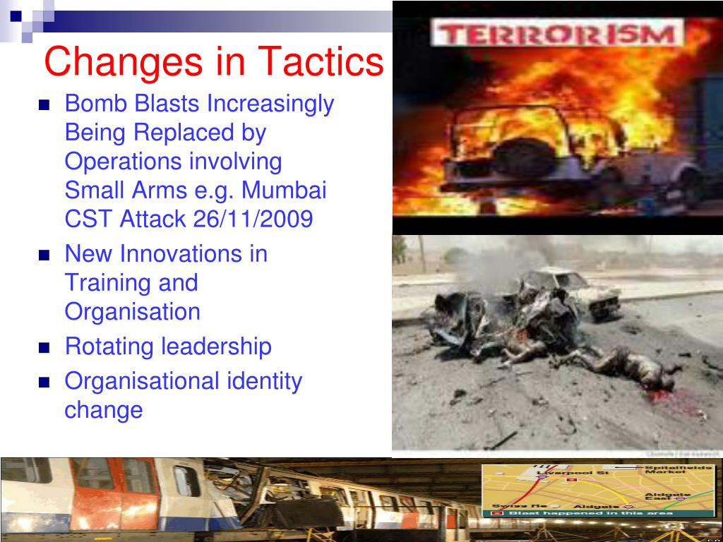 Changes in Tactics
