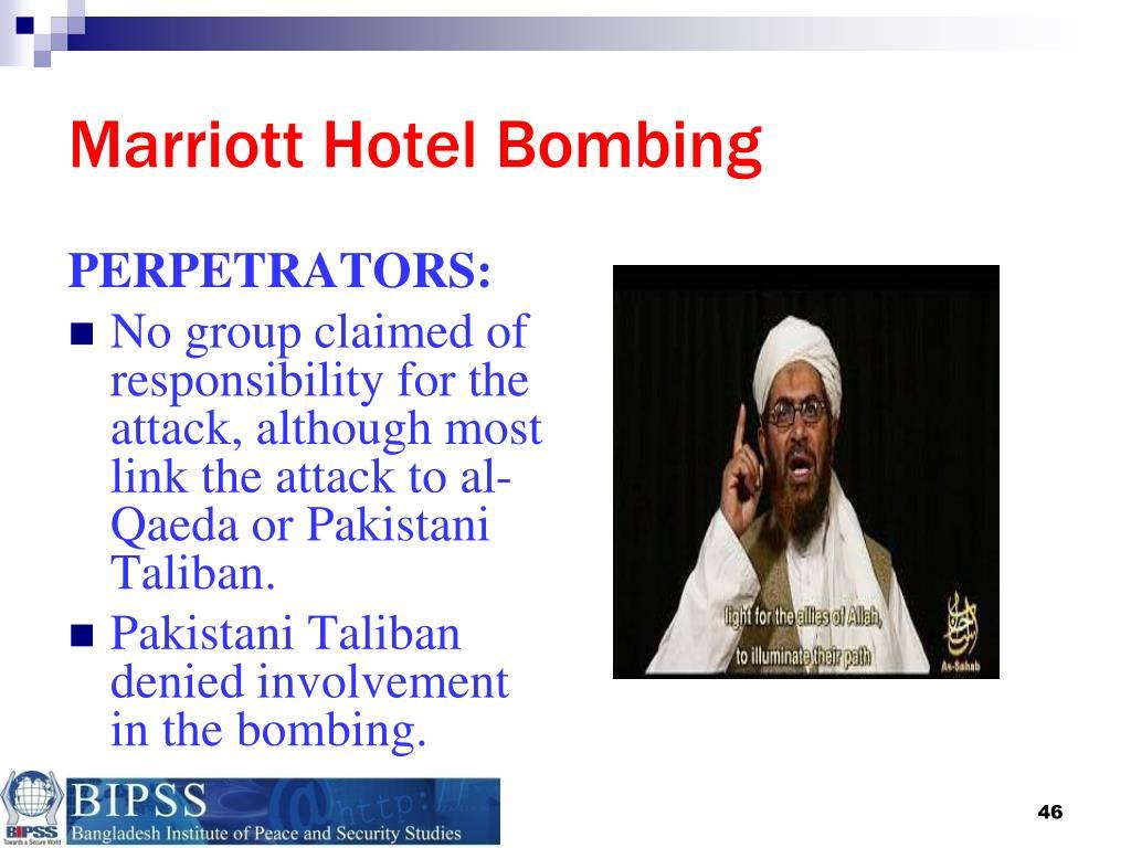 Marriott Hotel Bombing