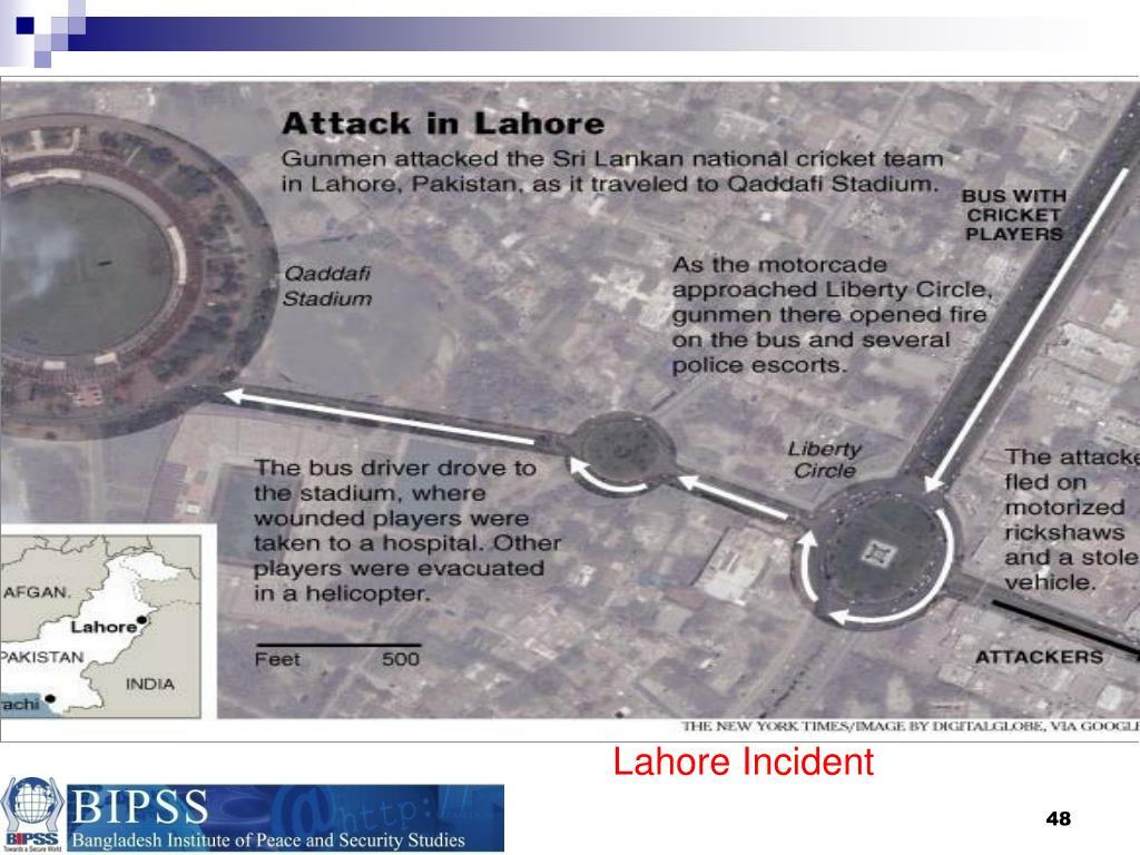 Lahore Incident
