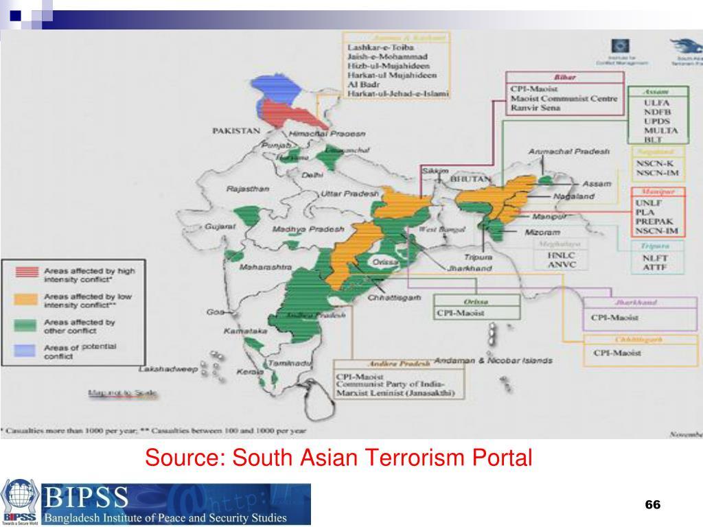 Source: South Asian Terrorism Portal