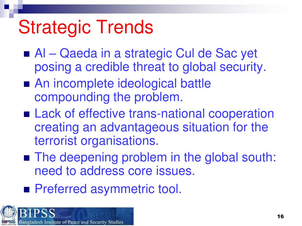 Strategic Trends