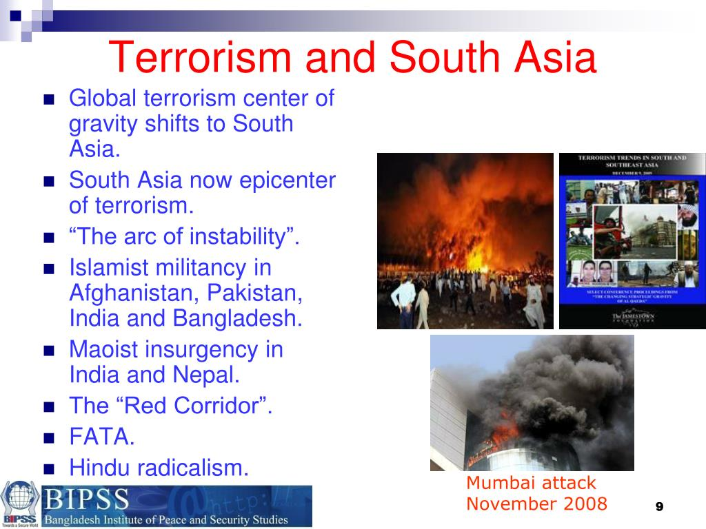 Terrorism and South Asia