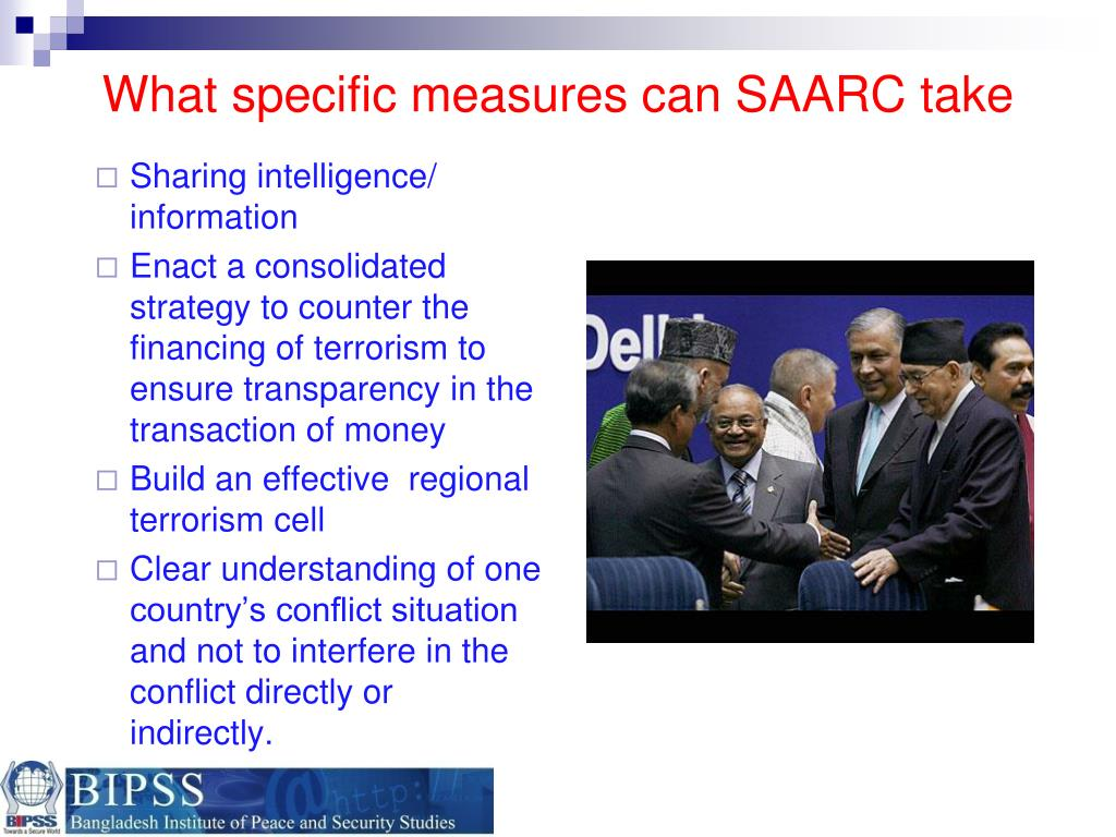 What specific measures can SAARC take