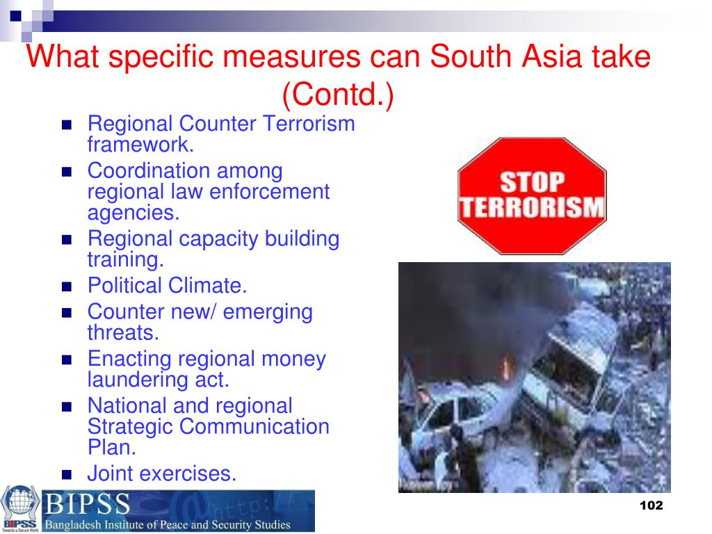 What specific measures can South Asia take (Contd.)
