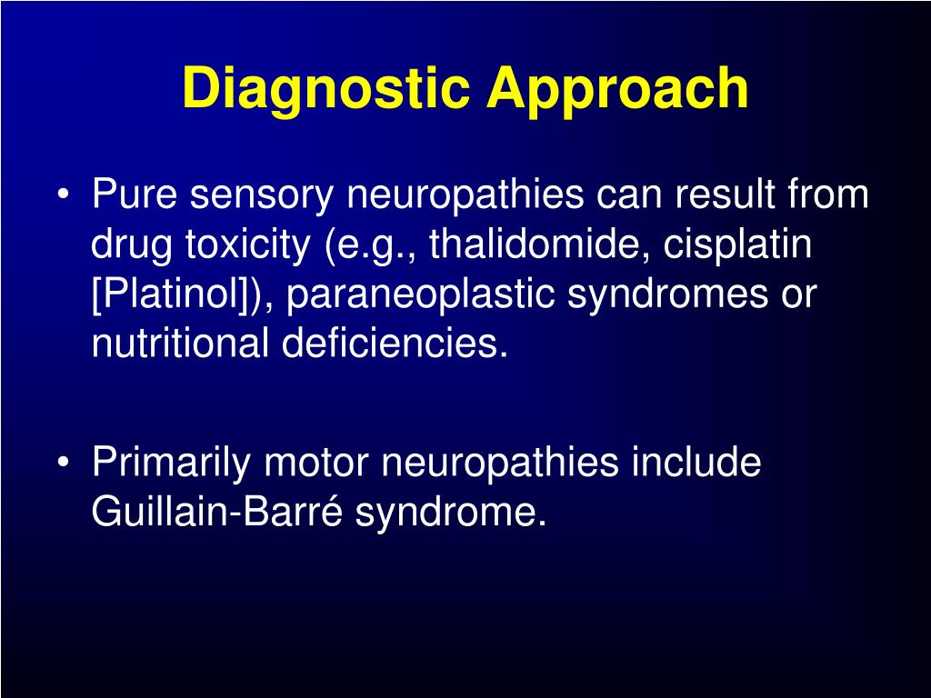 Diagnostic Approach