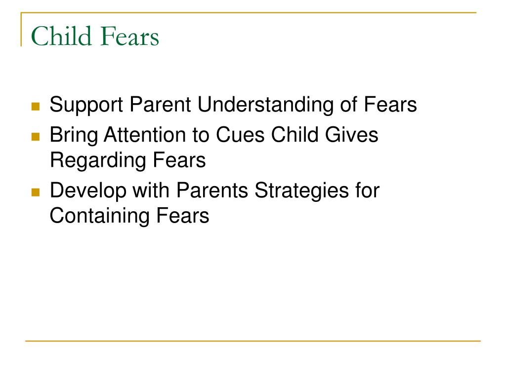 Child Fears