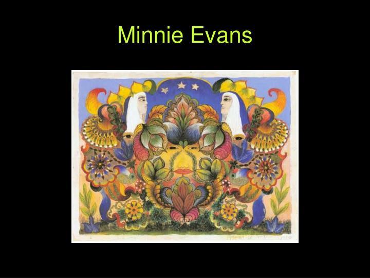 Minnie Evans