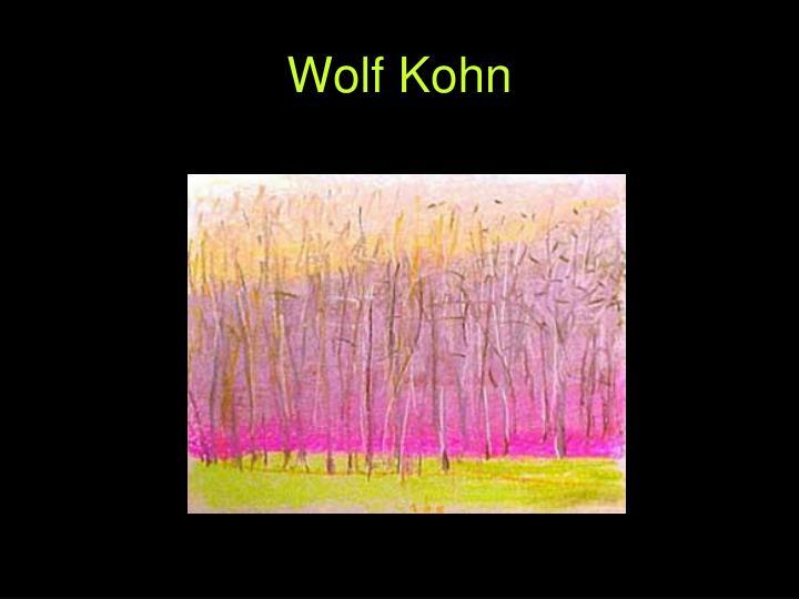 Wolf Kohn
