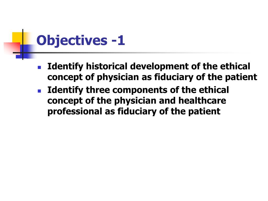 Objectives -1