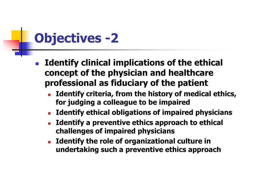 Objectives -2
