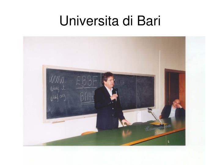 Universita di Bari