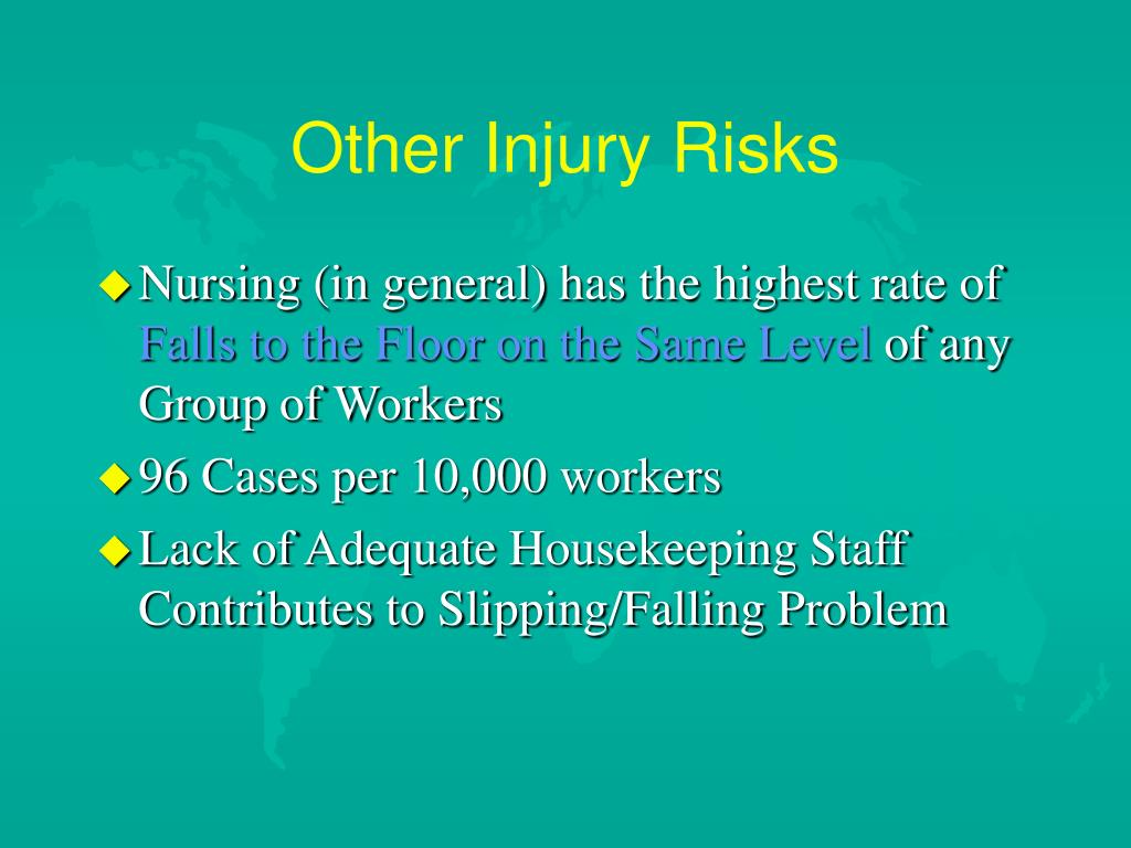 Other Injury Risks