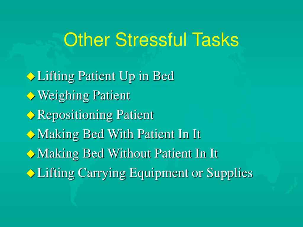Other Stressful Tasks