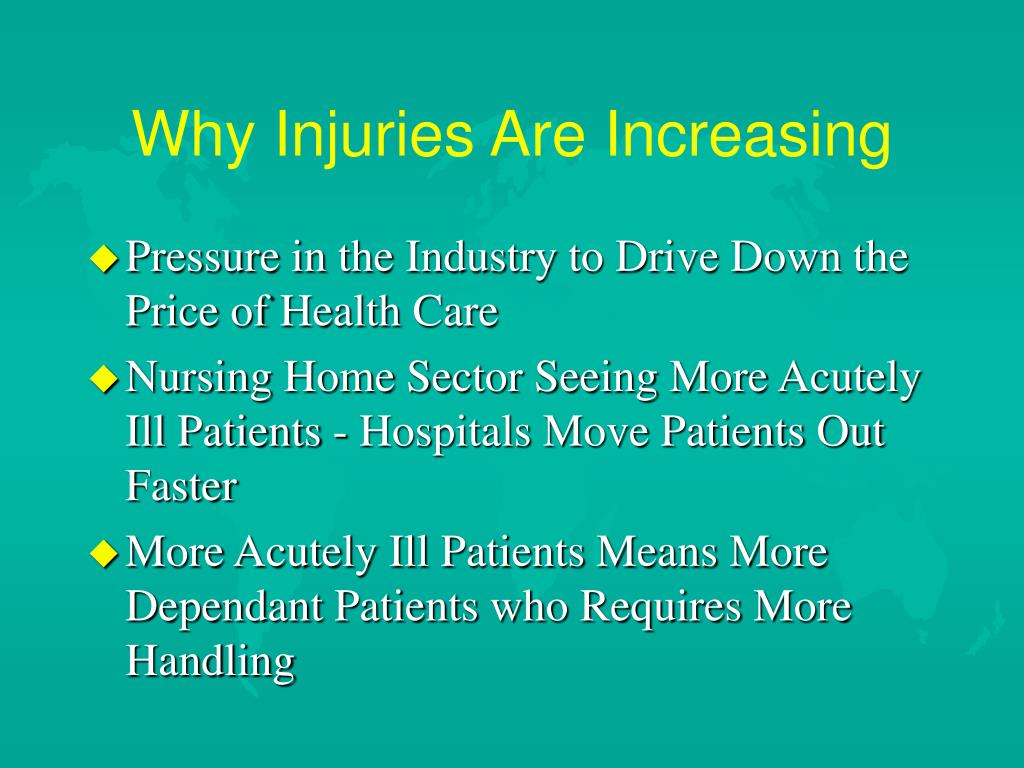 Why Injuries Are Increasing
