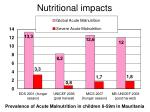 nutritional impacts