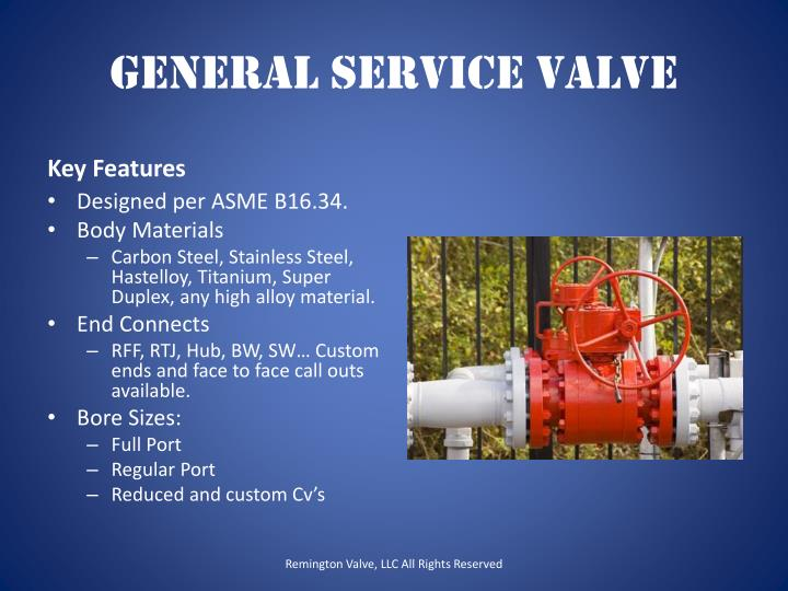 General Service Valve