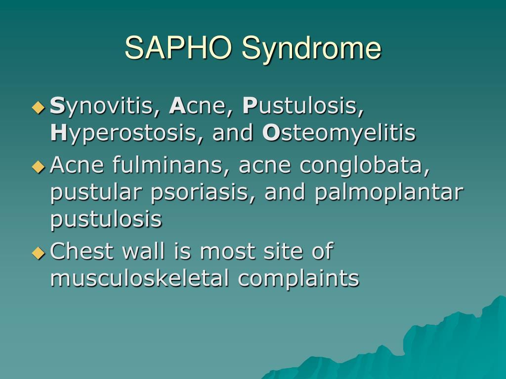 SAPHO Syndrome