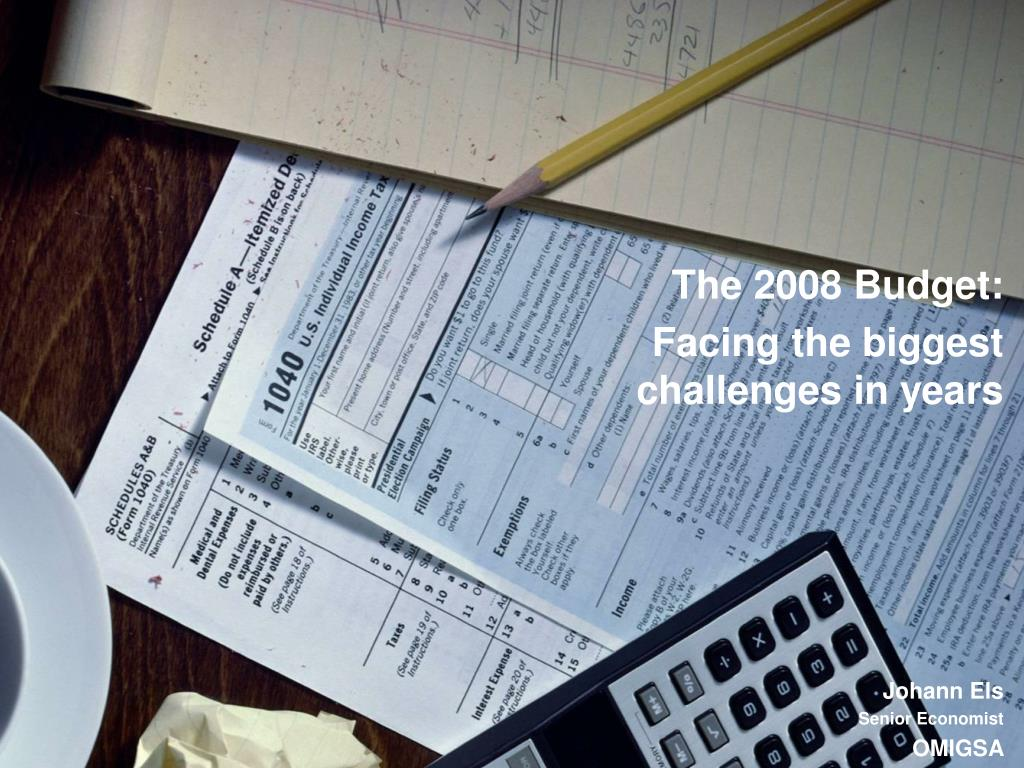 The 2008 Budget: