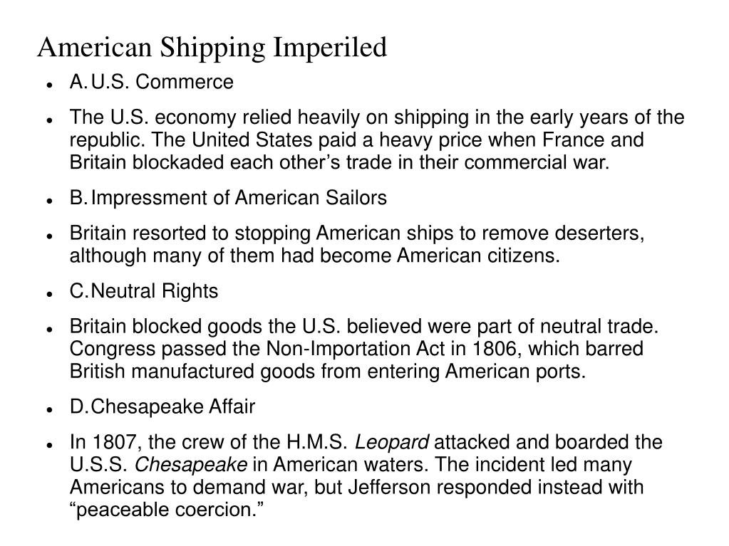American Shipping Imperiled