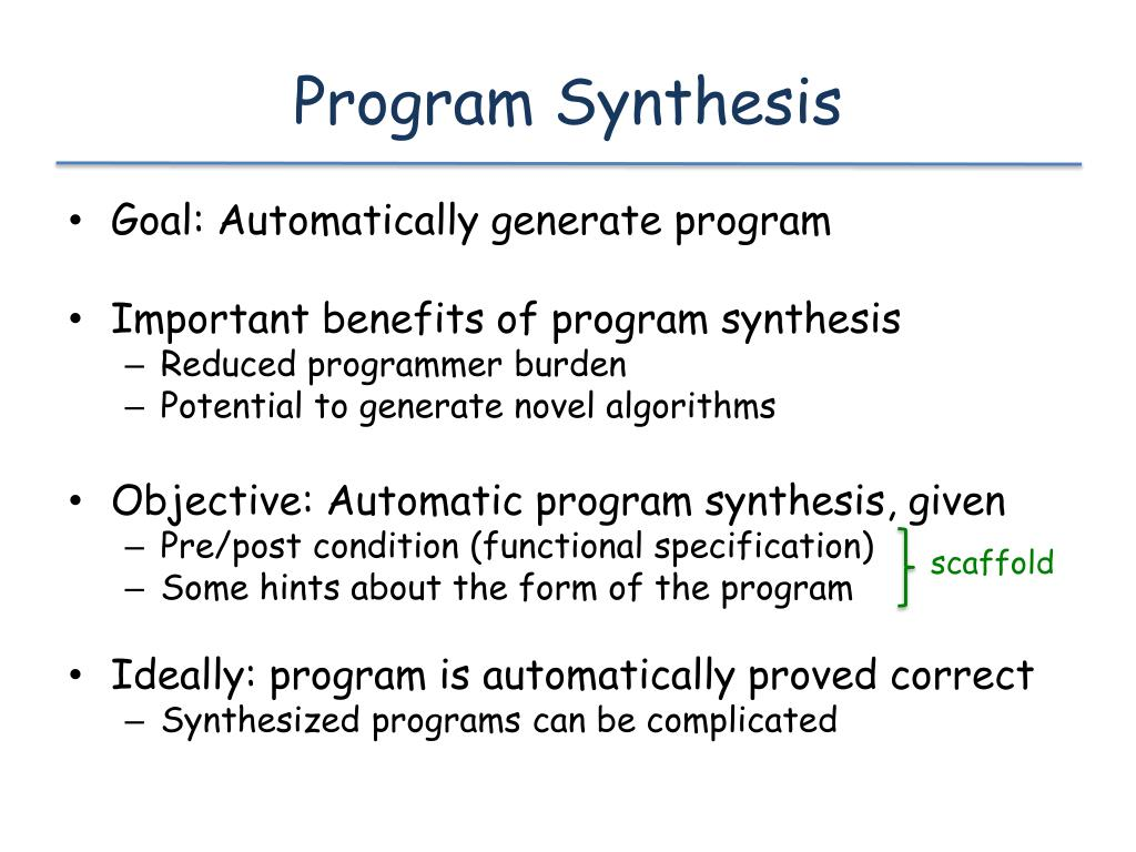 Program Synthesis