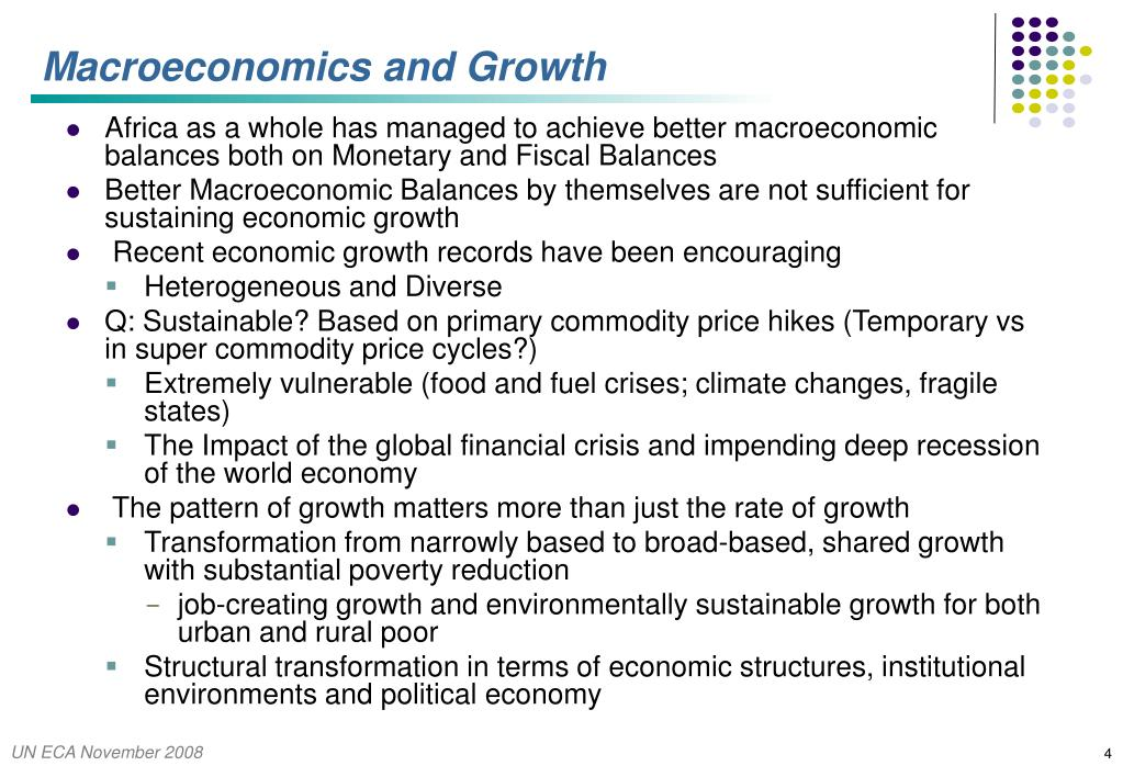 Macroeconomics and Growth