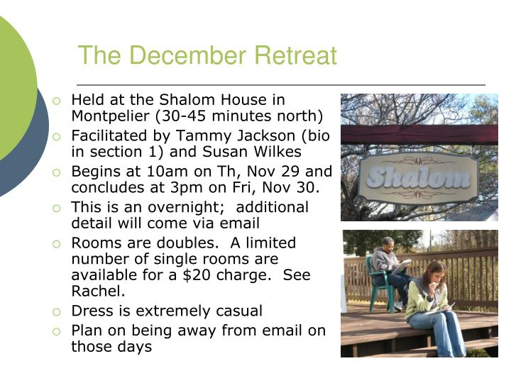 The December Retreat