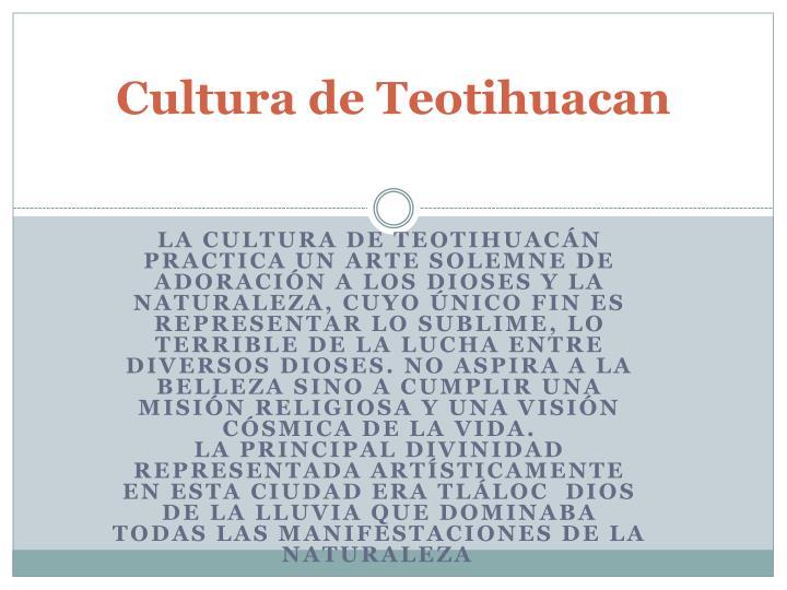 Cultura de