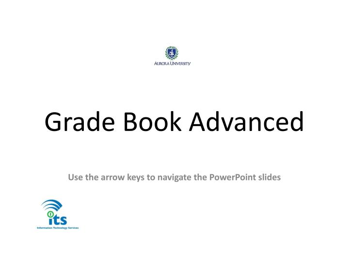Grade Book Advanced