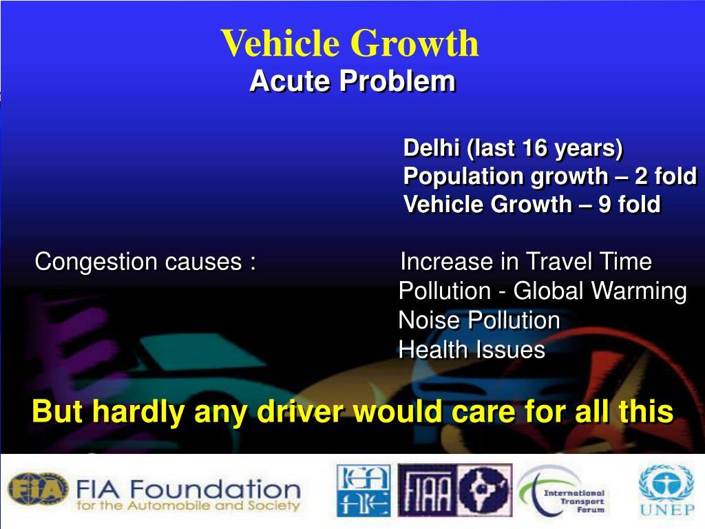 Vehicle Growth