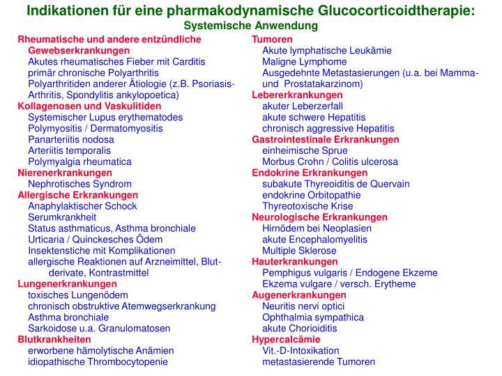 Rheumatische und andere entzündliche Gewebserkrankungen