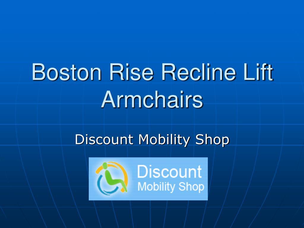 boston rise recline lift armchairs