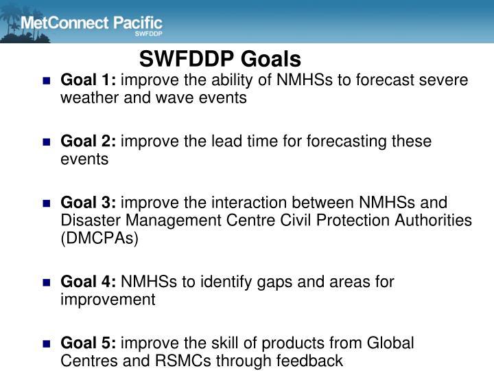 SWFDDP Goals