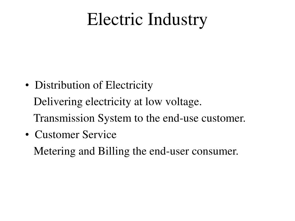 Electric Industry