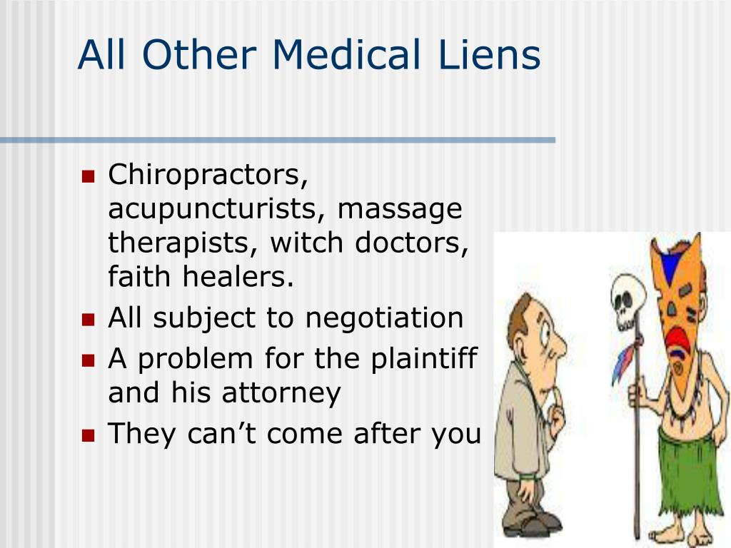 All Other Medical Liens