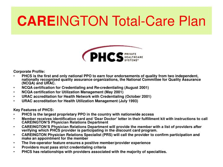 Care ington total care plan3
