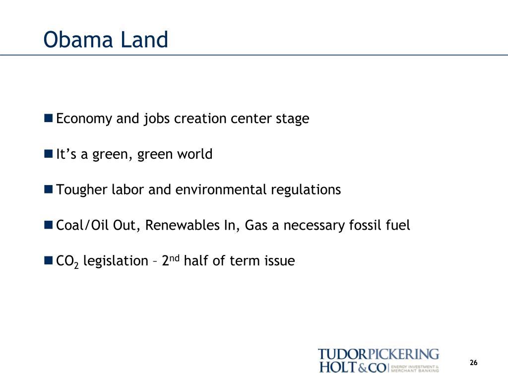 Obama Land