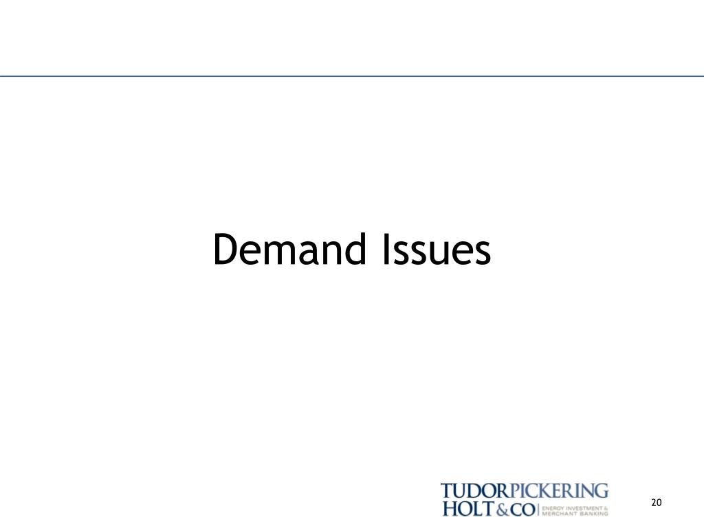Demand Issues