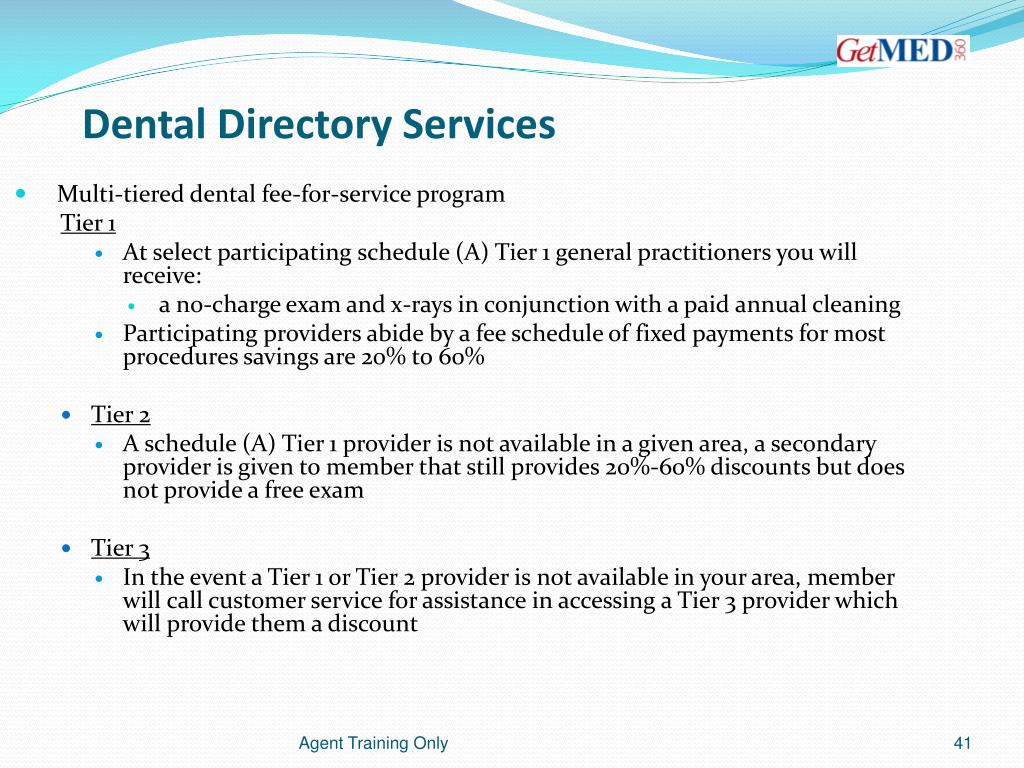 Dental Directory Services