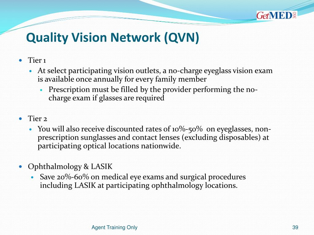 Quality Vision Network (QVN)