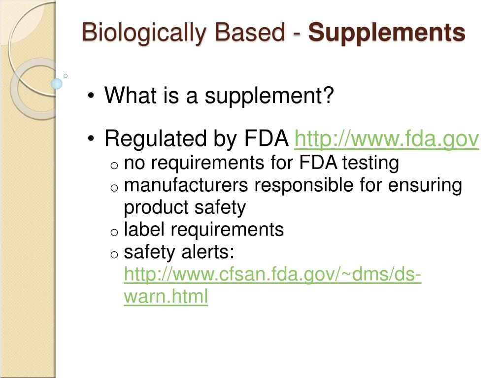 Biologically Based -